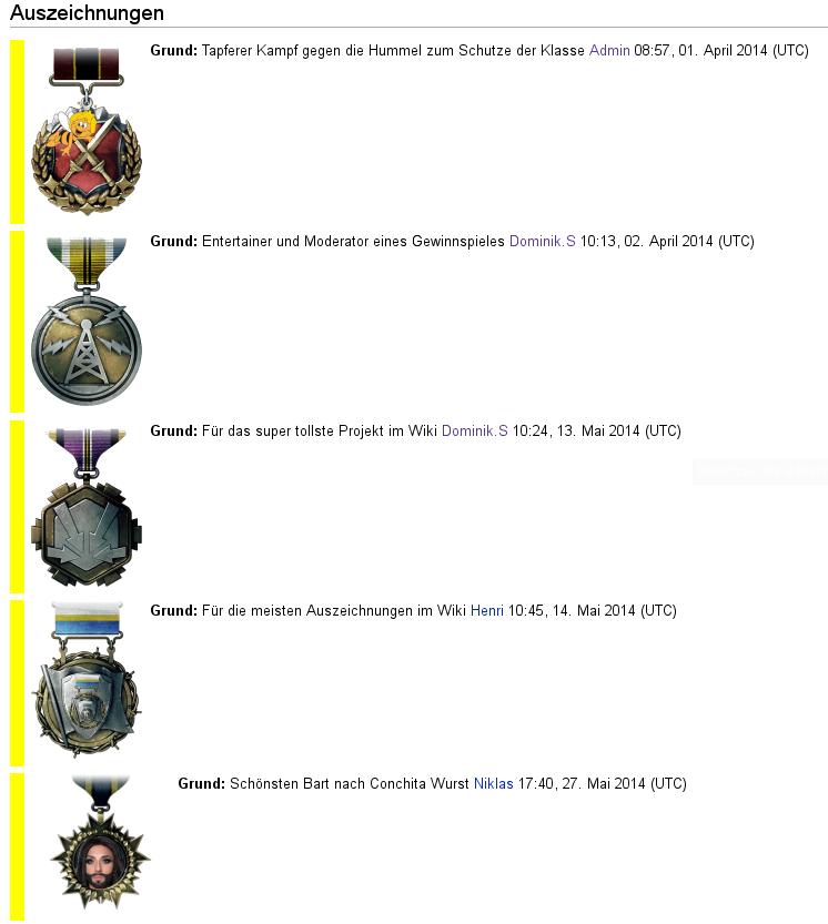 2014-05-29 Auszeichnungen