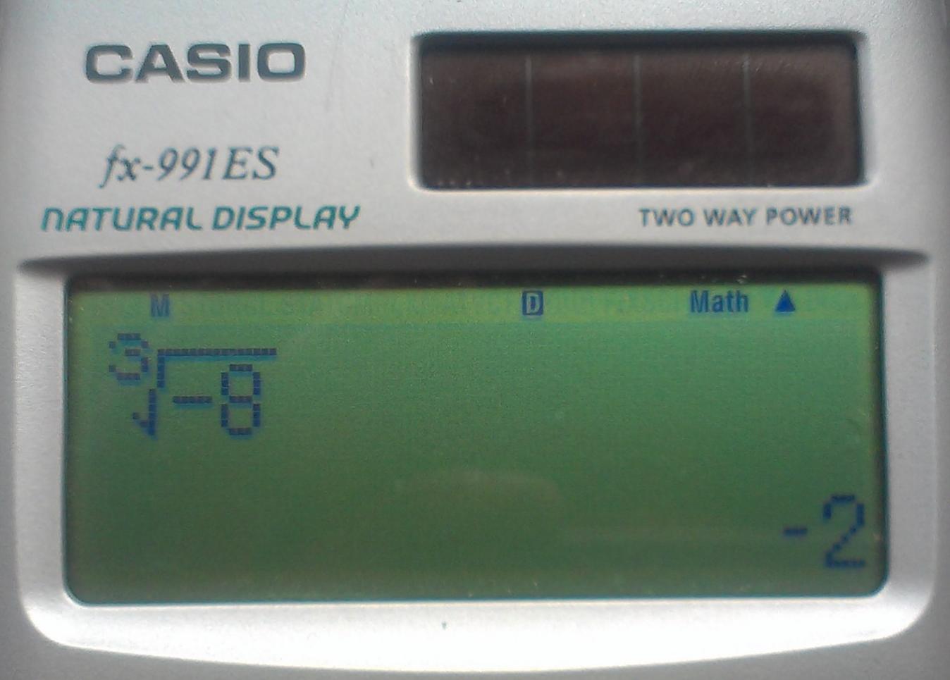 WurzelNegativ-Casiofx-991ES-1