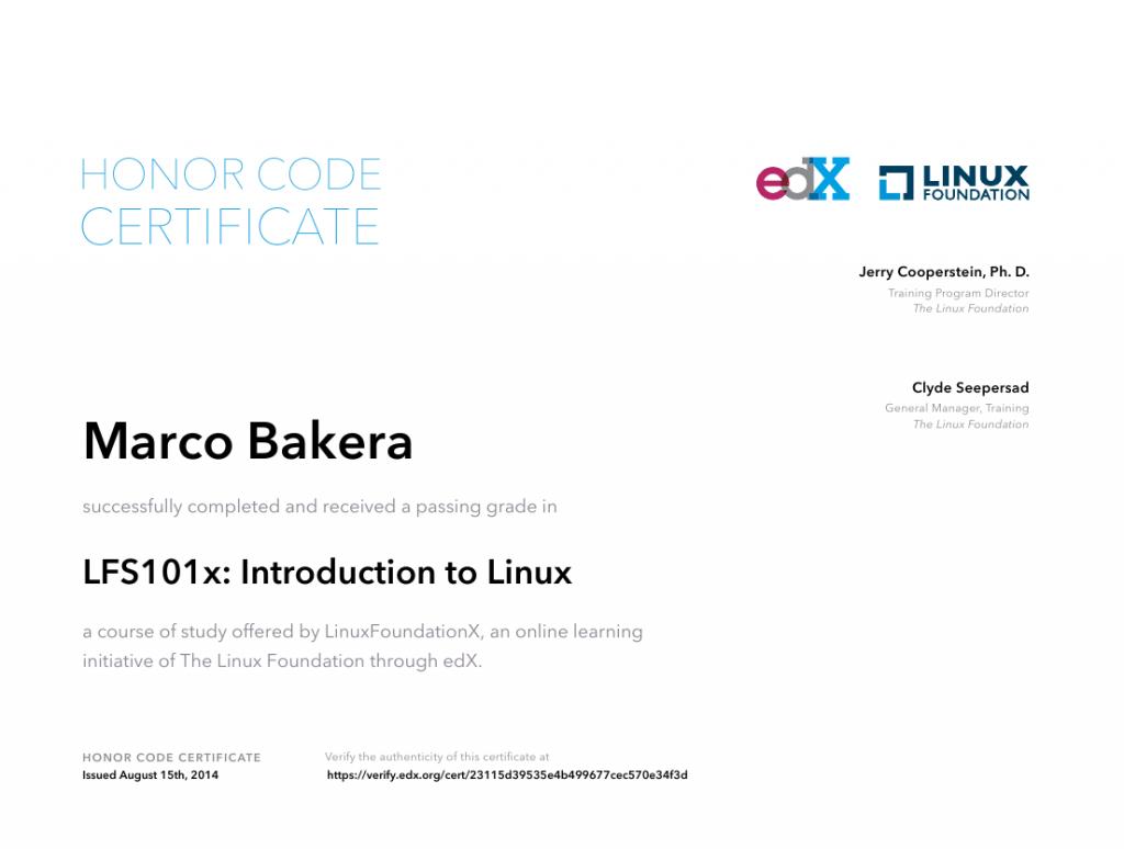 LinuxZertifikat