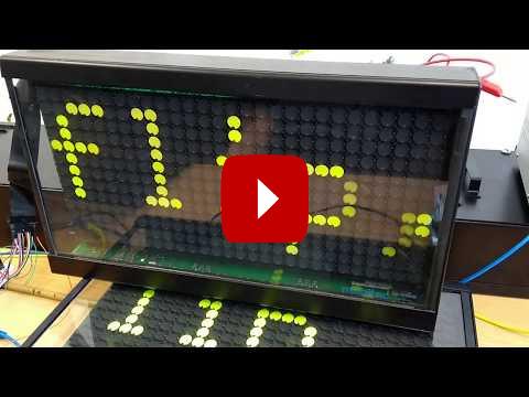 Video für Flip-Dot-Anzeige